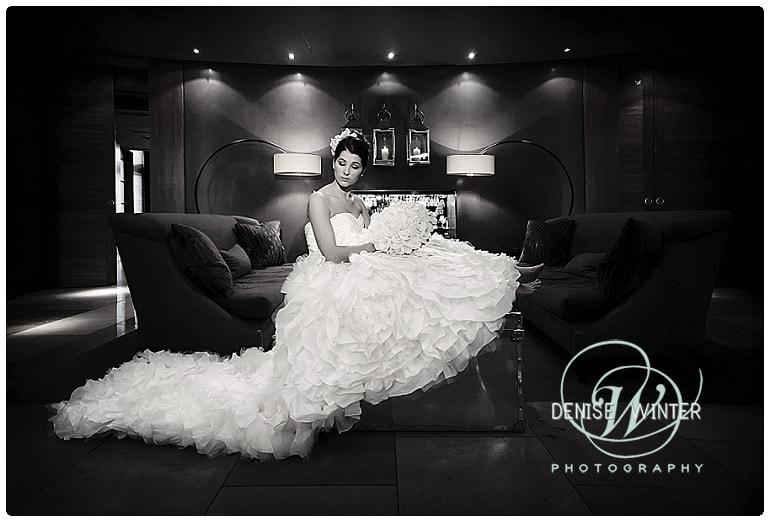 bride at the aviator hotel