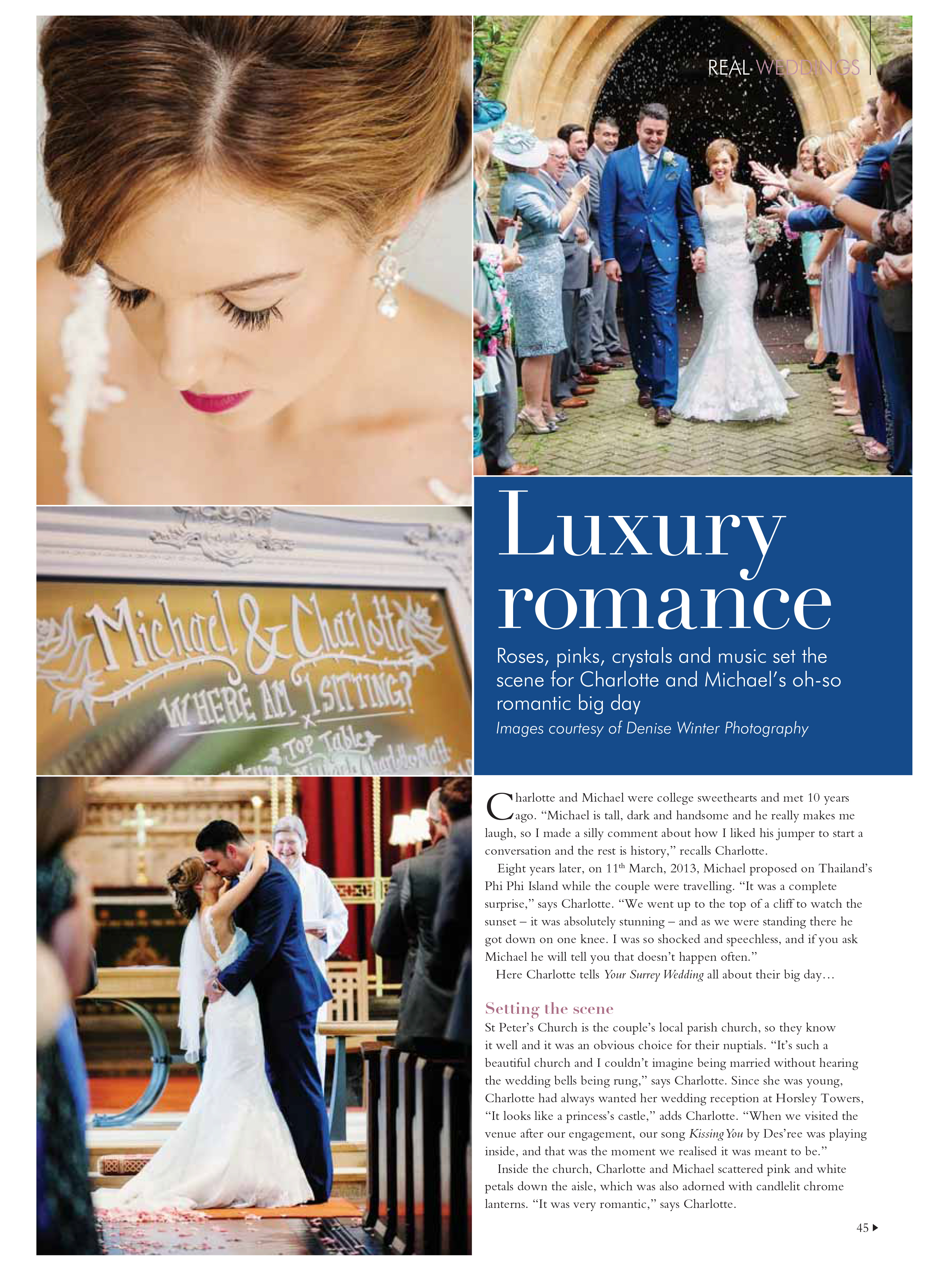 Horsley Park Wedding - Your Surrey Wedding Magazine - Denise Winter Photography07