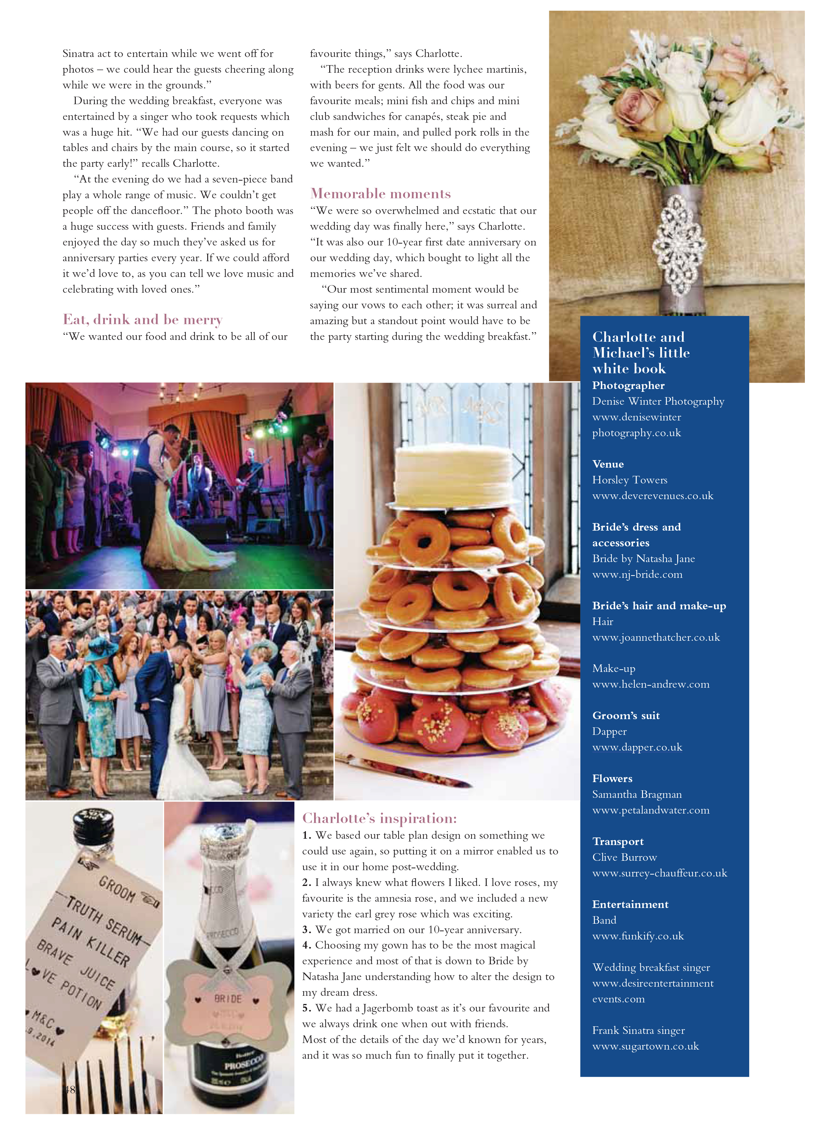 Horsley Park Wedding - Your Surrey Wedding Magazine - Denise Winter Photography09