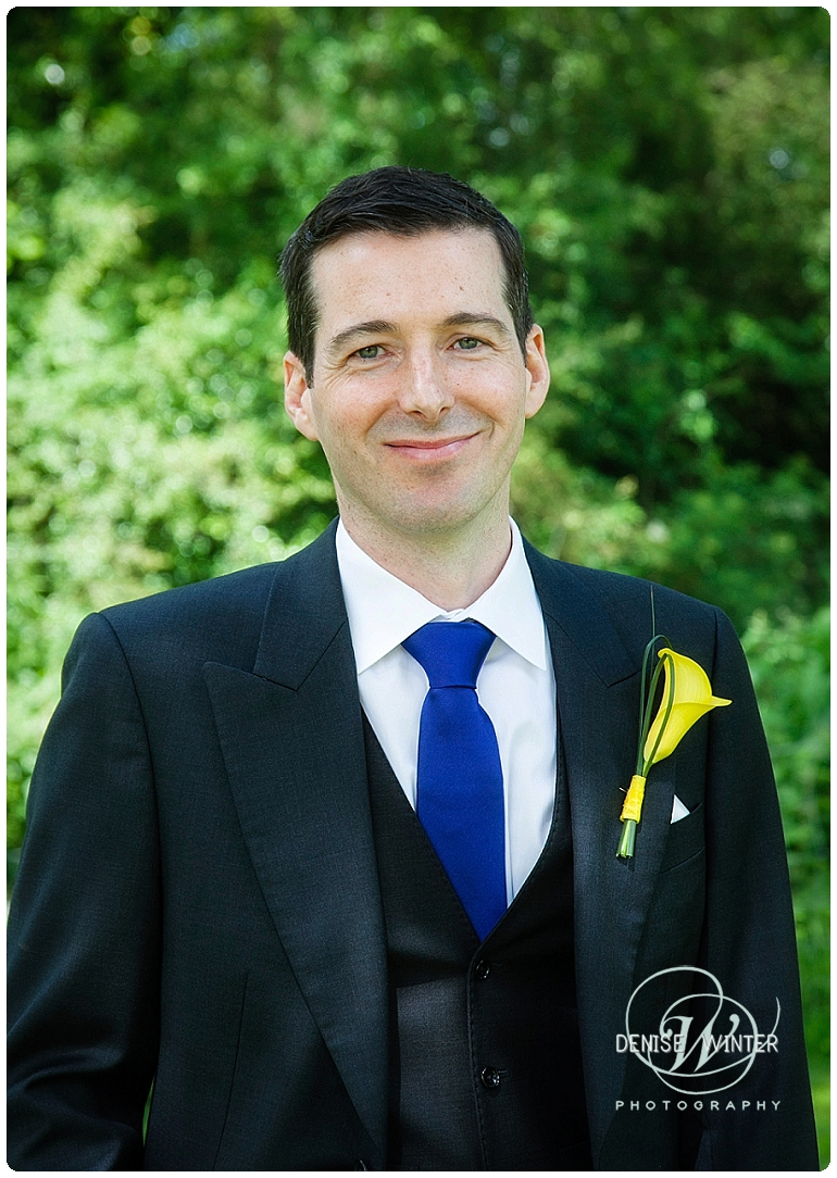 Groom at the Four Pillars Hotel in Witney