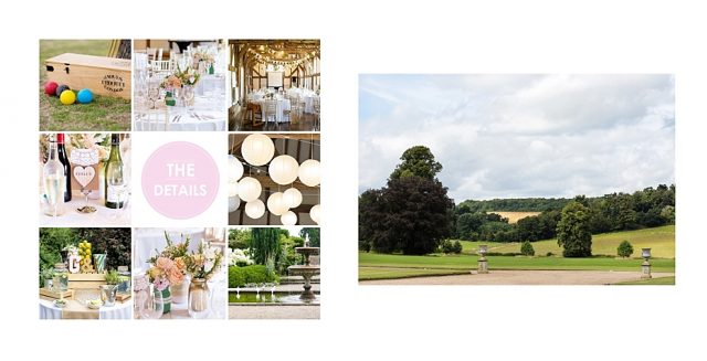 Loseley Park wedding photograph