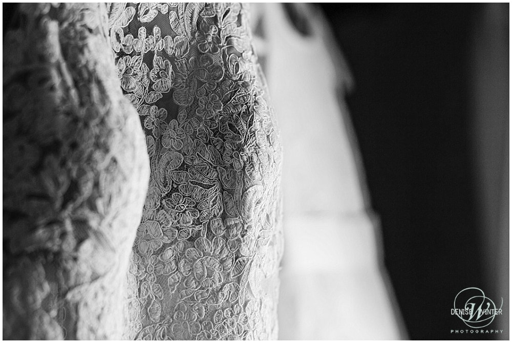 wedding dress detail close up photograph