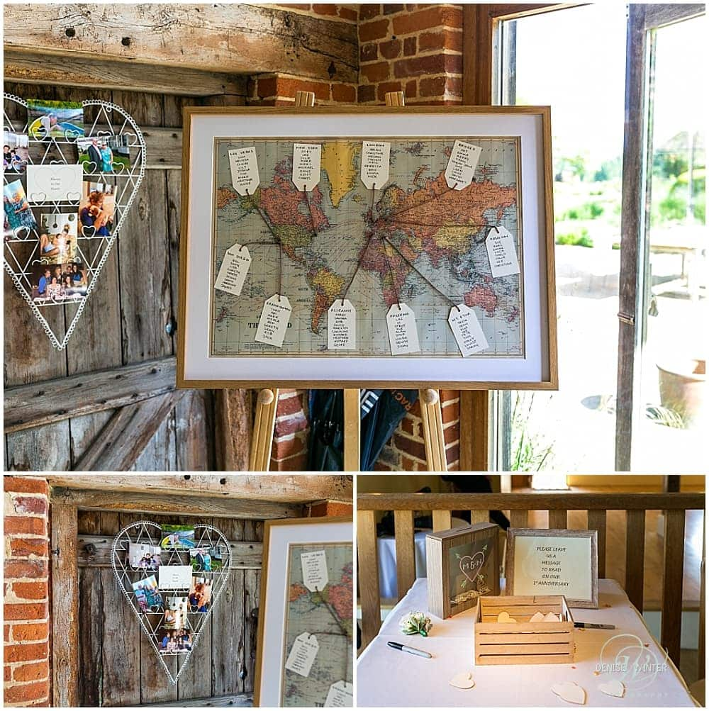 wedding ideas for your wedding breakfast at bury court barn
