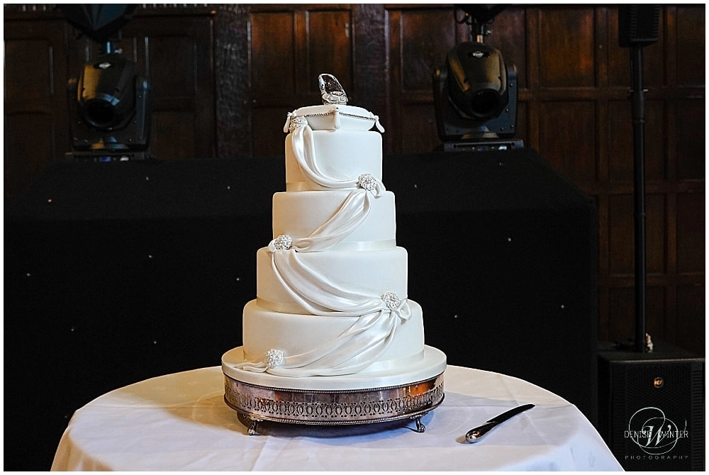Disney inspired wedding cake