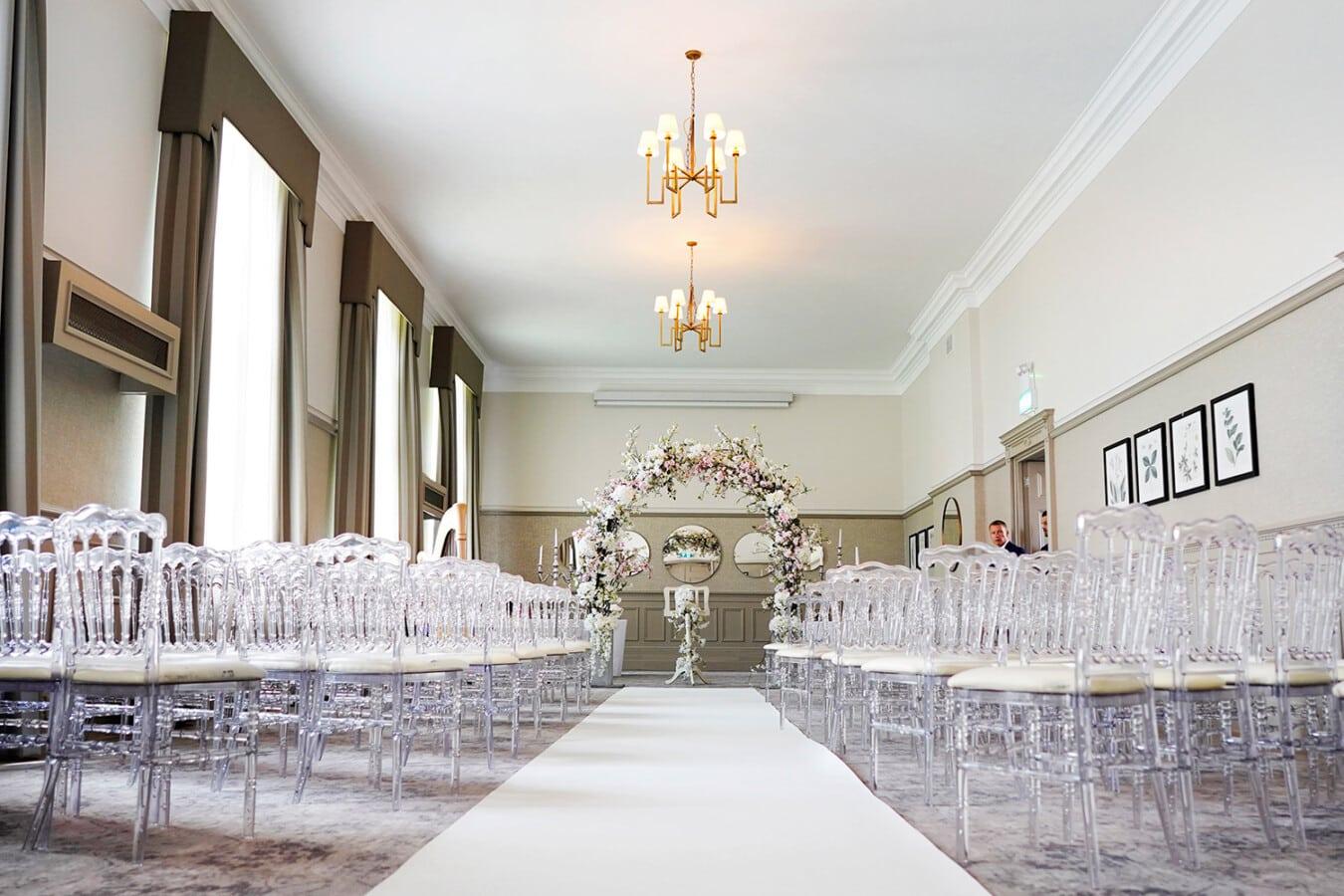 Ceremony room Beaumont Estate