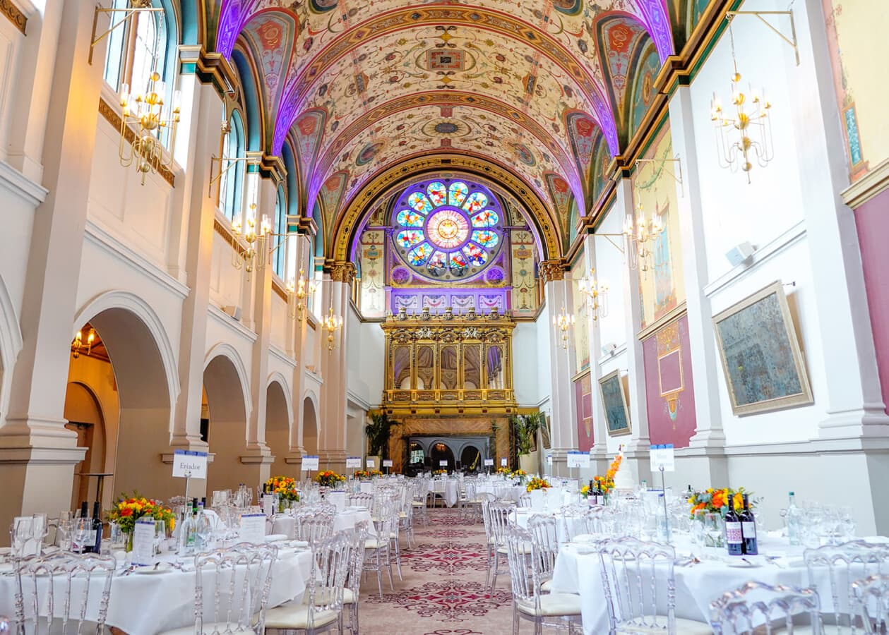 stunning chapel at beaumont house windsor